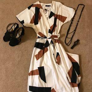 Dresses & Skirts - Eclectic Print Maxi Dress